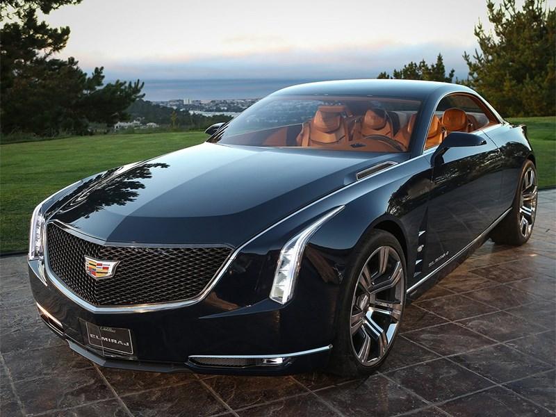 Cadillac Elmiraj concept 2013 вид спереди