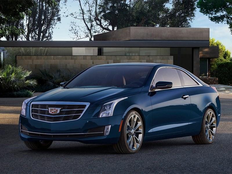 Новый Cadillac ATS - Cadillac ATS Coupe 2014 вид спереди