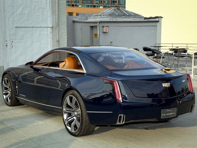 Cadillac Elmiraj concept 2013 вид сзади