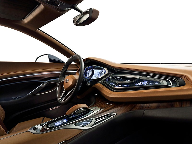 Cadillac Elmiraj concept 2013 водительское место
