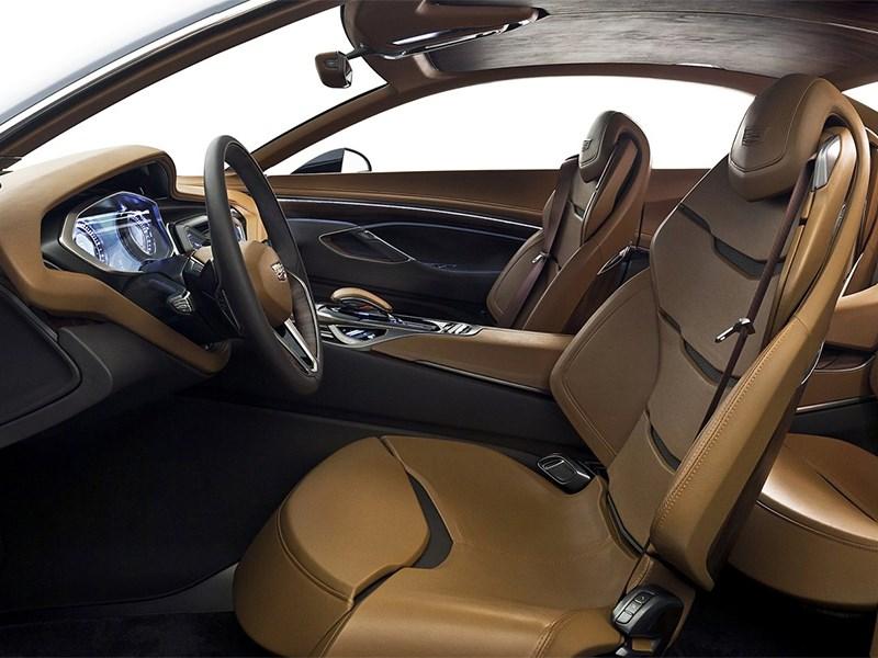 Cadillac Elmiraj concept 2013 передние кресла