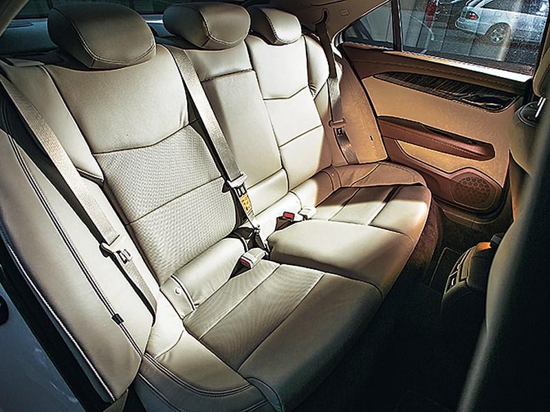 Cadillac ATS 2012 задний диван