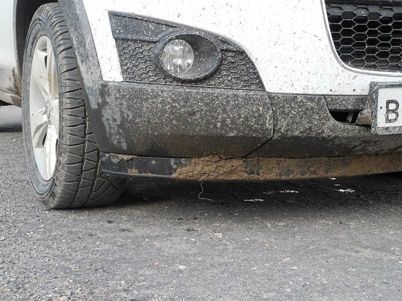 Chevrolet Captiva 2011 передний бампер