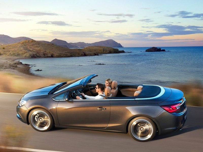 Opel представил кабриолет Cascada