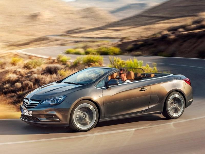 Opel Cascada 2013 вид спереди