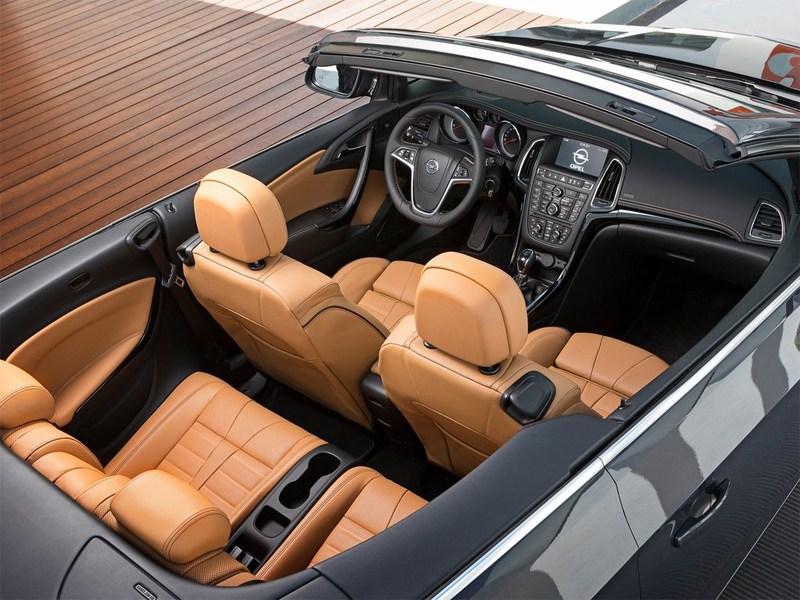 Opel Cascada 2013 салон