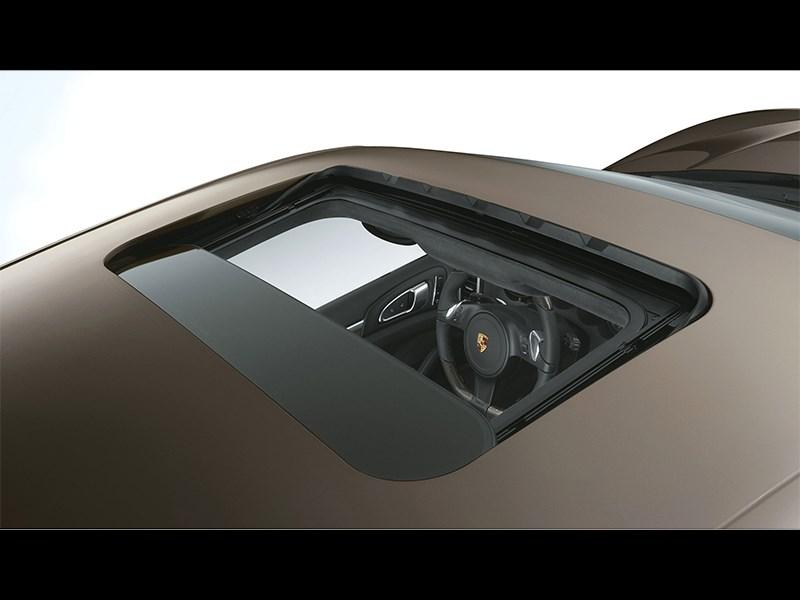 Porsche Cayenne S 2011 люк в крыше