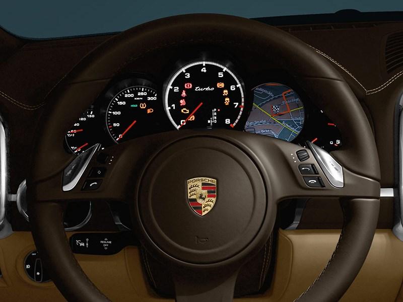 Porsche Cayenne S 2011 приборная панель