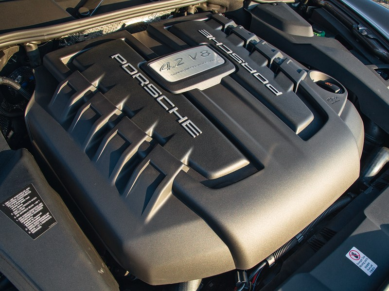 Porsche Cayenne S Diesel 2013 двигатель