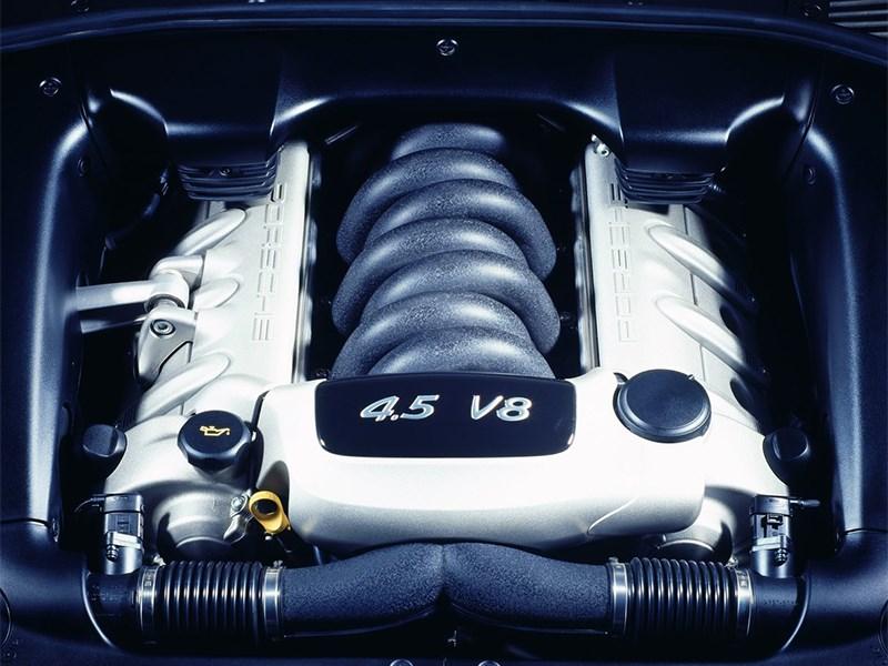 Porsche Cayenne S 2004 двигатель