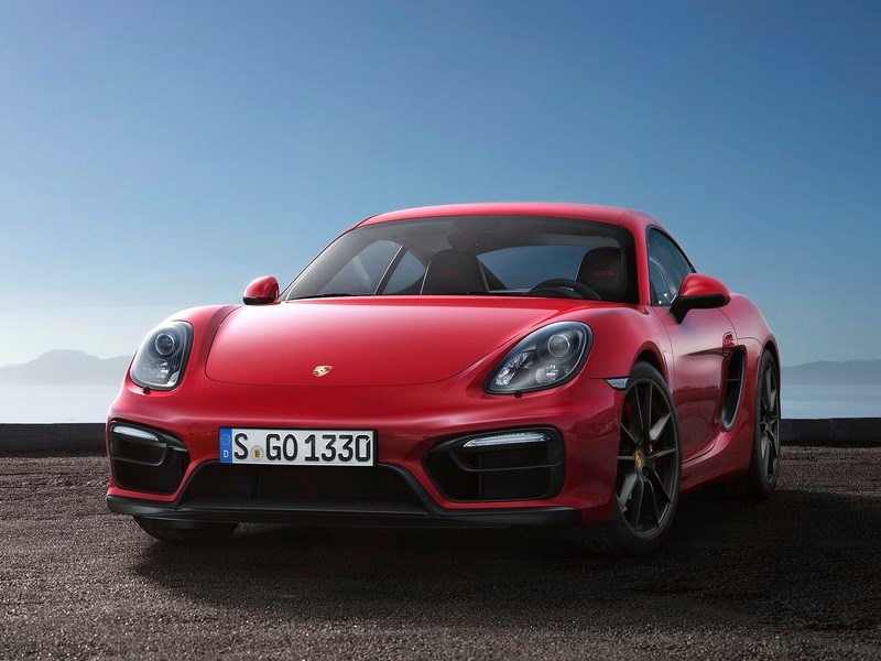 Porsche Cayman GTS 2014 вид спереди