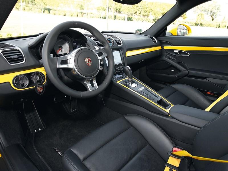Porsche Cayman 2013 водительское место
