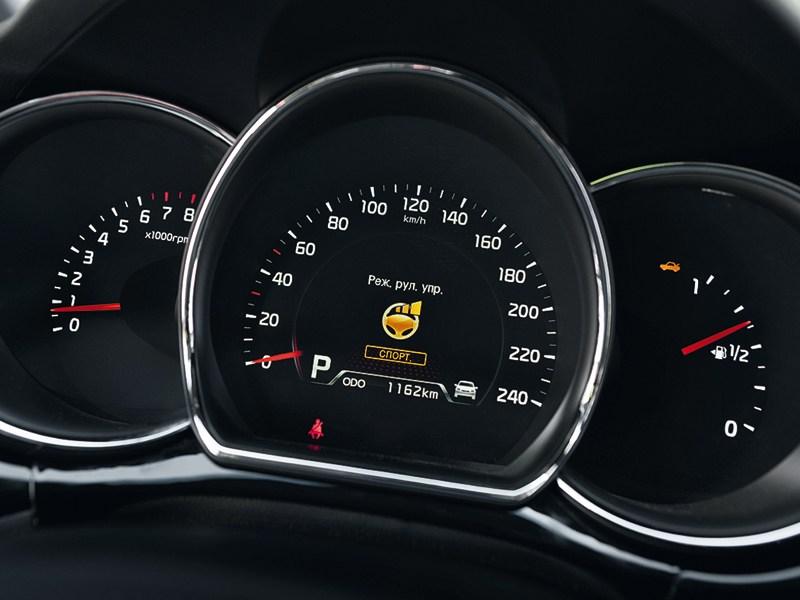 Kia cee'd 2012 хэтчбек комбинация приборов