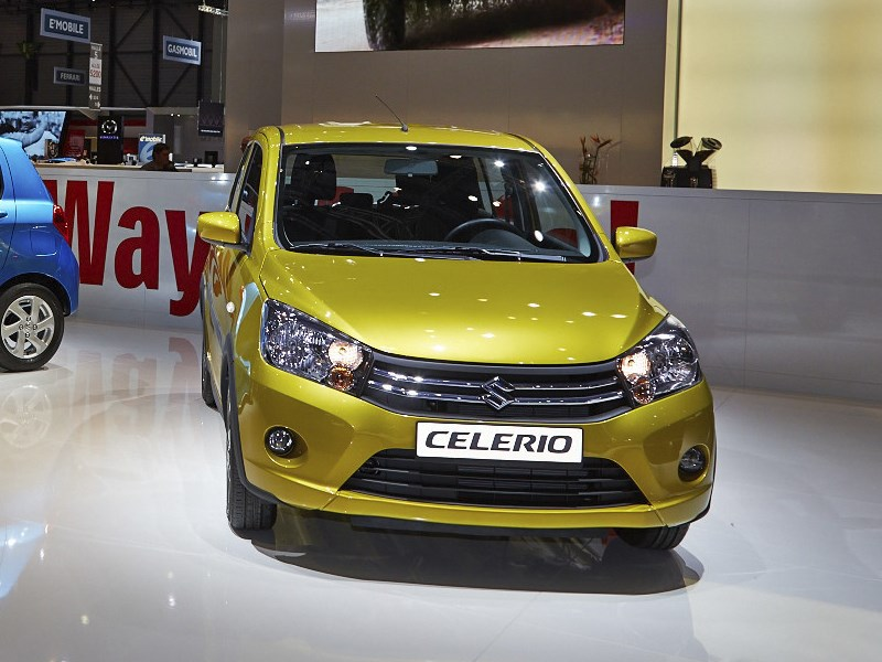 Suzuki Celerio 2014 вид спереди