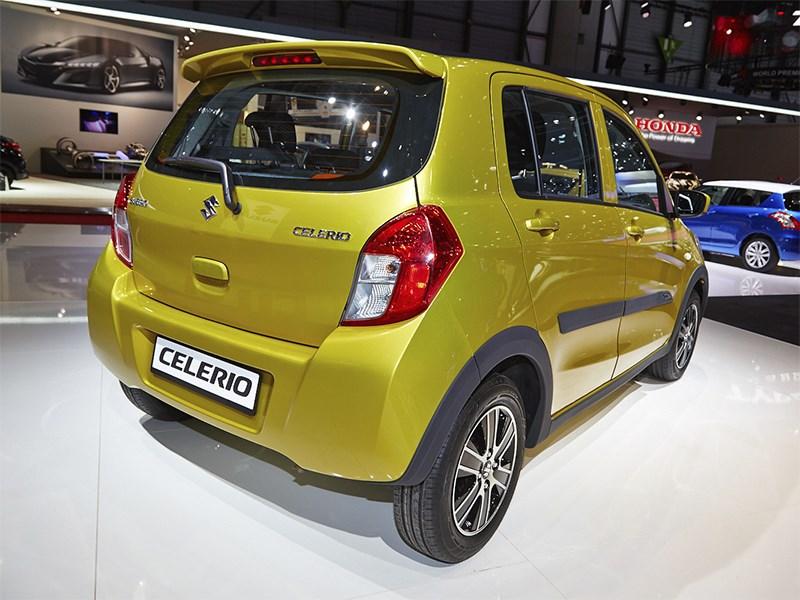Suzuki Celerio 2014 вид сзади