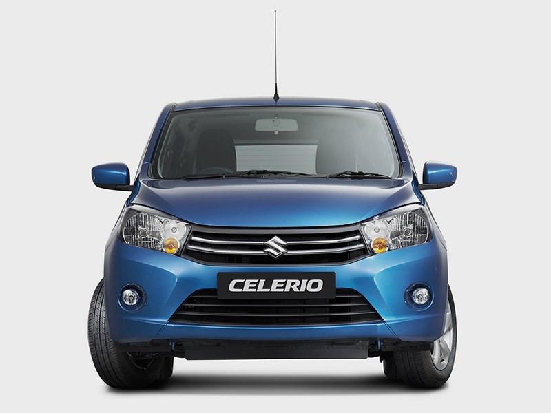 Suzuki Celerio 2014 вид спереди фото 2