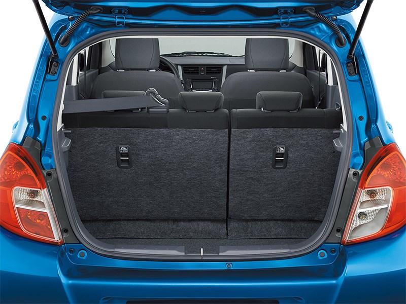 Suzuki Celerio 2014 багажное отделение