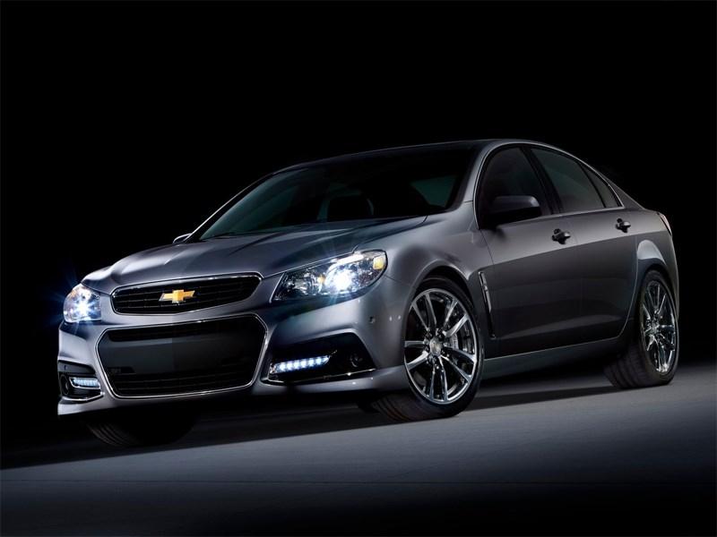 Новый Chevrolet SS - Chevrolet SS 2013 вид спереди