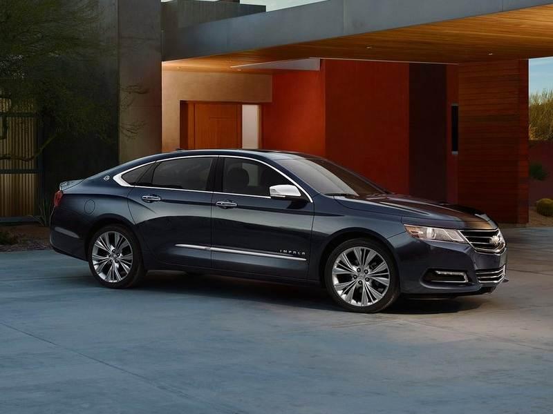 Chevrolet Impala 2013 вид спереди