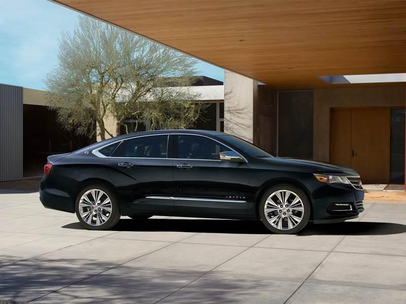 Chevrolet Impala 2013 вид сбоку