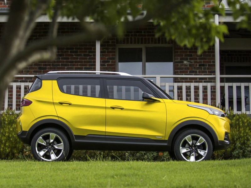 Chevrolet Adra Concept 2014 вид сбоку