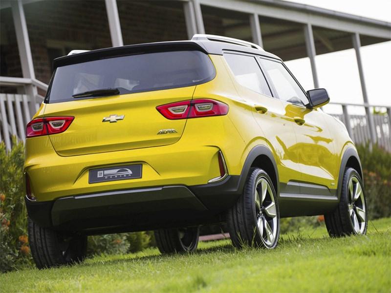 Chevrolet Adra Concept 2014 вид сзади
