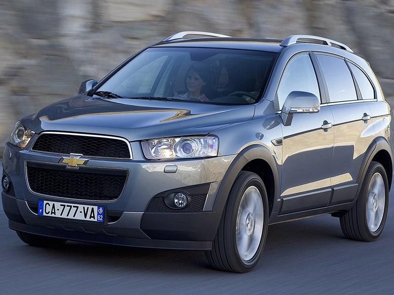 В Россию может вернуться Chevrolet Captiva