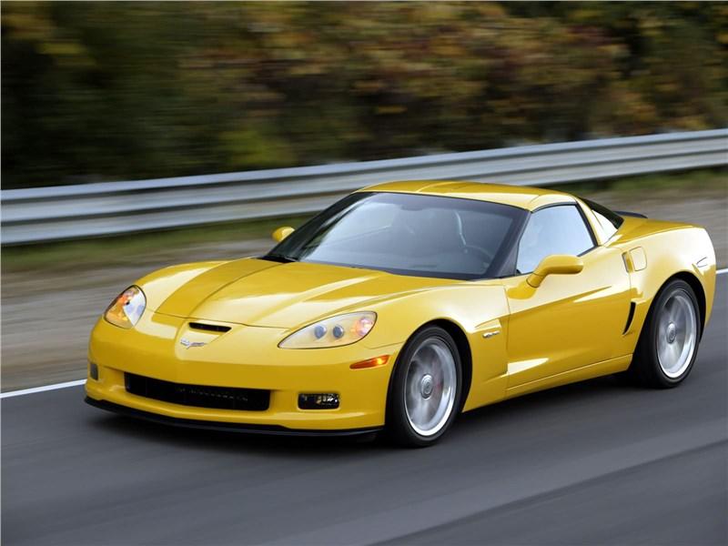 Более мощный Chevrolet Corvette Z06 дебютирует в январе