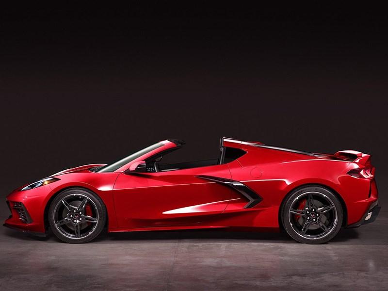 Chevrolet показал, как будет выглядеть родстер Corvette Фото Авто Коломна
