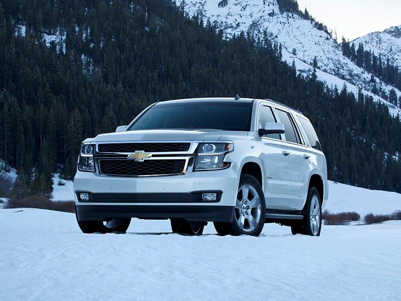 В России появился обновленный Chevrolet Tahoe
