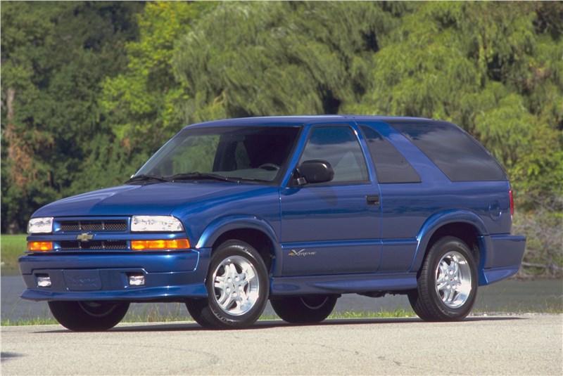 Chevrolet TrailBlazer 2001 трехдверный кузов