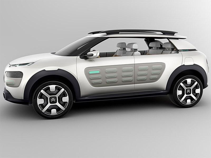 Citroen Cactus concept 2013 вид сбоку