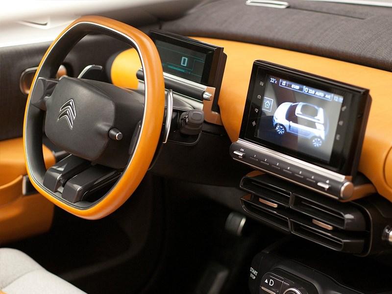 Citroen Cactus concept 2013 водительское место