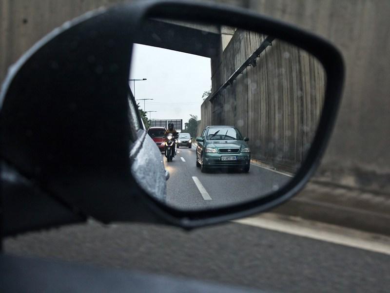 Citroen C-Elysee 2013 боковое зеркало