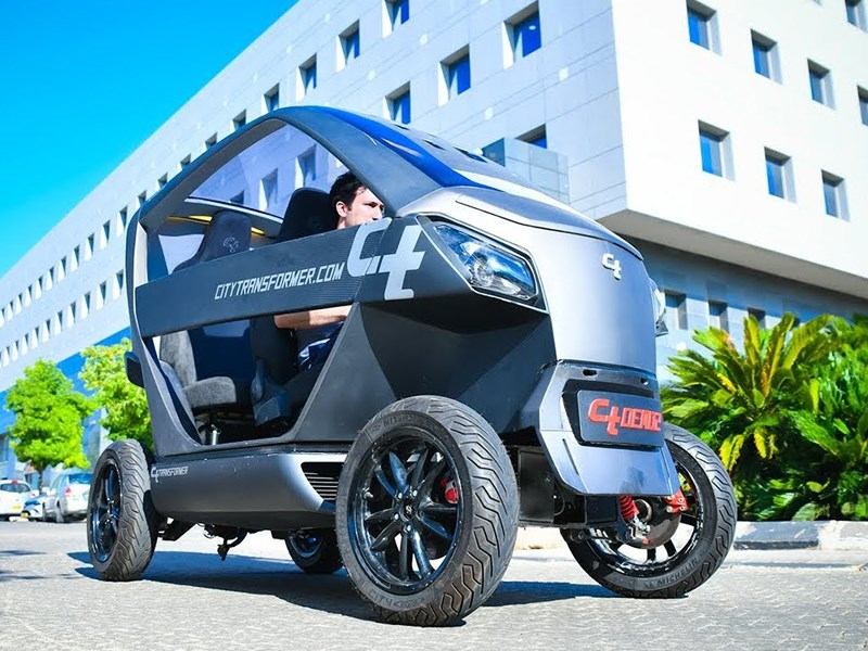 В Израиле разработали свой собственный автомобиль.