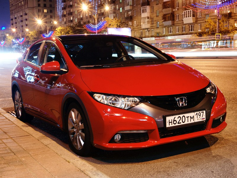 Honda Civic - honda civic 2012 вид спереди