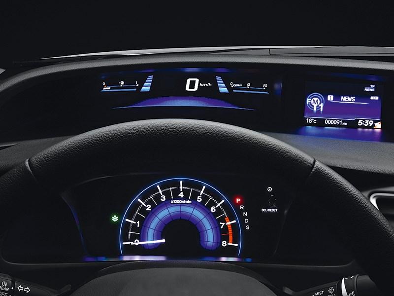 Honda Civic 2013 приборная панель