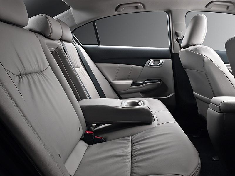 Honda Civic 2013 задний диван