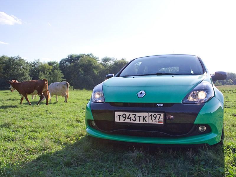 Renault Clio RS 2010 вид спереди