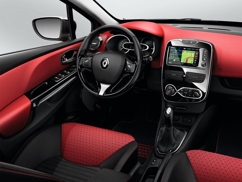 Renault Clio 2013 водительское место