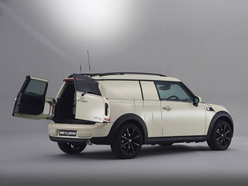 Mini представляет новый универсал Clubvan