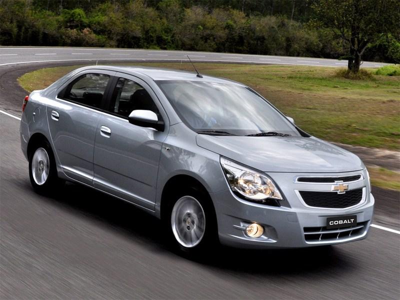 Новый Chevrolet Cobalt - Chevrolet Cobalt 2013 вид спереди