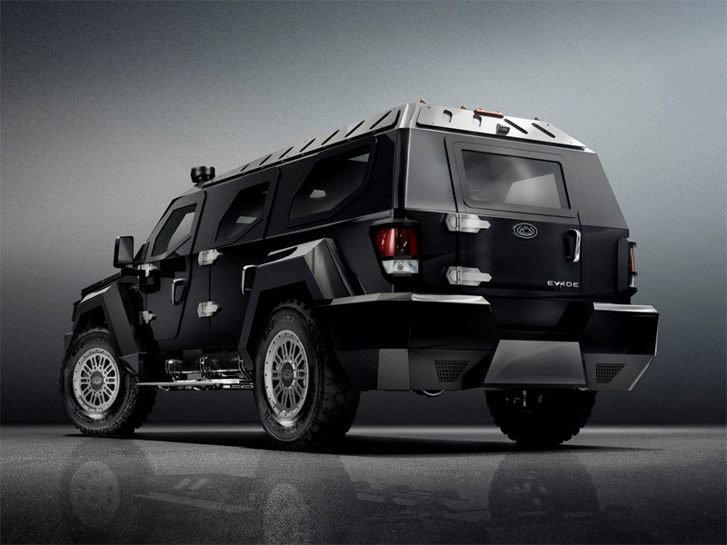 Conquest Vehicles Evade 2012 вид сзади