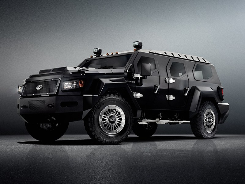 Conquest Vehicles Evade 2012 вид сбоку