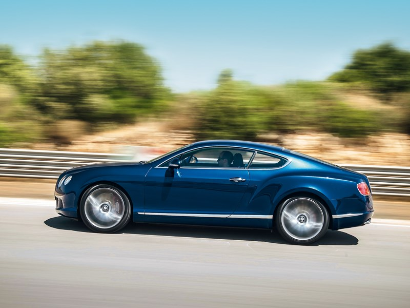 Bentley Continental GT Speed 2013 вид сбоку