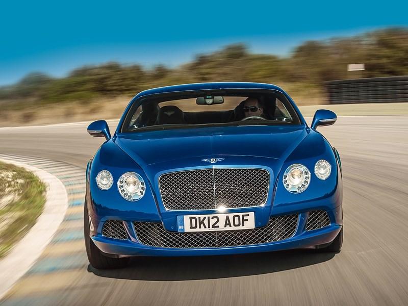 Bentley Continental GT Speed 2013 вид спереди