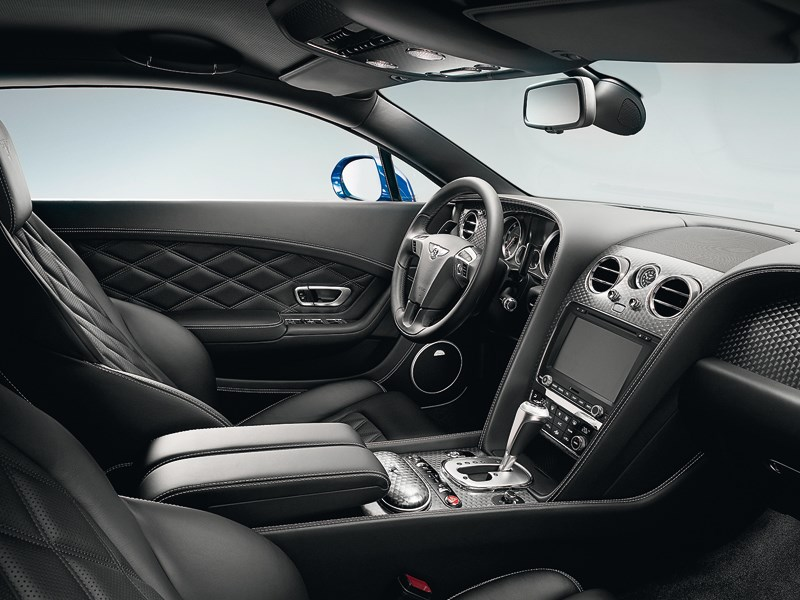 Bentley Continental GT Speed 2013 водительское место