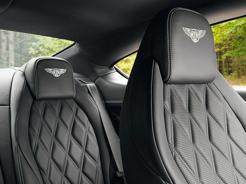 Bentley Continental GT Speed 2013 кресла