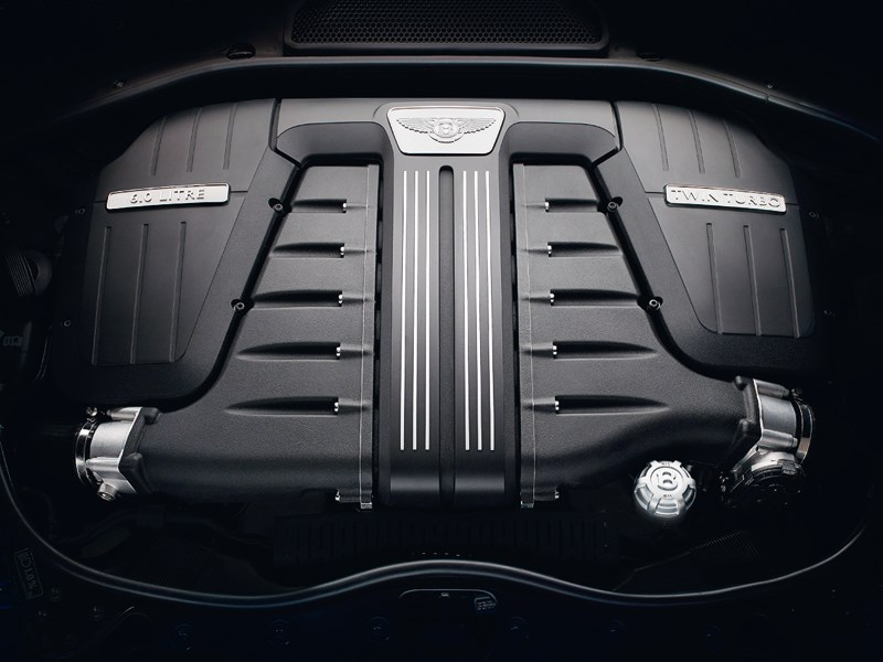 Bentley Continental GT Speed 2013 двигатель
