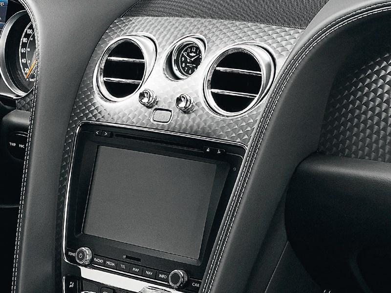 Bentley Continental GT Speed 2013 дисплей